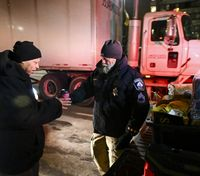 Minn. LEO hands out cold weather gear to homeless during big freeze