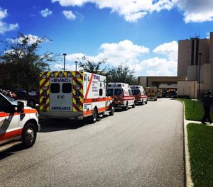 The county's proposed budget takes away eight EMS positions that were originally promised. (Photo/Tribune News Service)