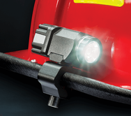 The next generation of helmet-mounted flashlights for firefighters