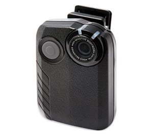 The Verus BX1 body camera has an integrated wireless microphone that allows the officer to only use one device. (Data911 Image)