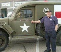 WWII veteran finds ambulance driven during war