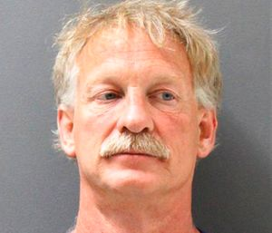 Gene Alan Carpenter, 54, is accused of flying a drone over a major Arizona wildfire. (Yavapai County Sheriff's Office via AP)