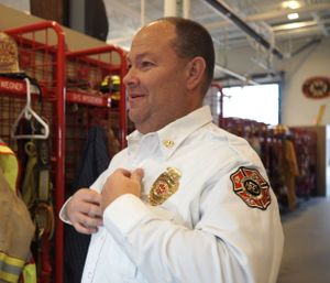 Andy Wegner, assistant fire chief in Mukwonago, Wisconsin, was among those who made the journey.  (Image/5.11 Tactical)