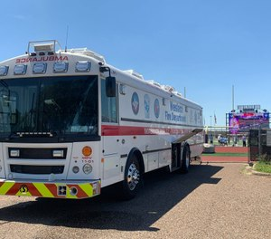 The ambus was purchased through the help of the Lower Rio Grande Valley Development Council and TRAC-V, a group of hospitals and ambulance service providers. (Photo/Weslaco Fire Department)