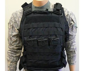 The pack is designed to fit body armor front and rear from soft body armor up to large size hard plates, to include buoyancy plates.