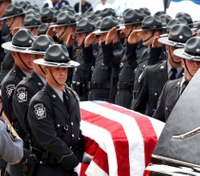 Hundreds of officers attend funeral for Pa. trooper killed in wreck