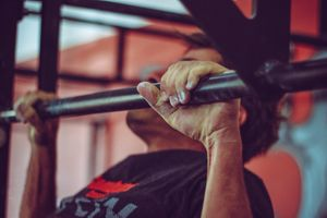 The pull up is one of the best upper body exercises you can do to build grip strength and the adductor muscle groups.(Photo/Pexels)
