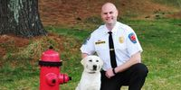 Arson dog not allowed in Wash. firehouses