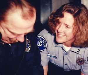 Bellevue Fire Department Captain Jeanette Woldseth became a career firefighter in 1977. (Photo/BFD)