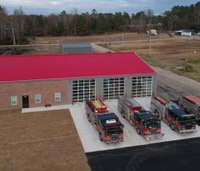 NC firefighters get new station after tornado