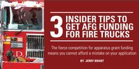 3 Insider tips to get AFG funding for fire trucks