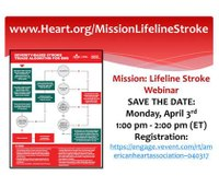 Webinar to discuss severity-based stroke triage algorithm