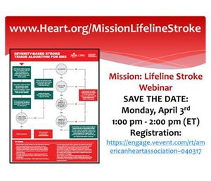 The webinar is scheduled for April 3. (Photo/AHA)