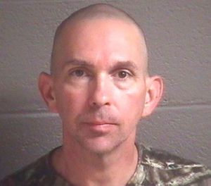 This undated photo provided by the Buncombe County Detention Center shows Michael Christopher Estes. (Buncombe County Detention Center via AP)