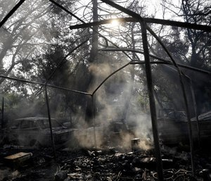 Two months after the wine country fires, officials still debate whether more could have been done to give residents earlier warnings. (Photo/AP)