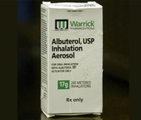 Congress considering stocking albuterol in schools