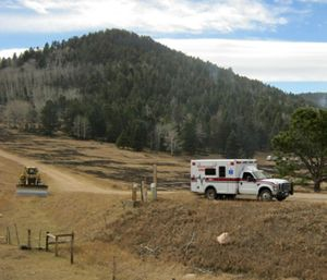 While every rural EMS department comes with its own unique difficulties and challenges, the advantages rural EMS can offer both BLS and ALS providers are vast. (Photo/InciWeb.gov)