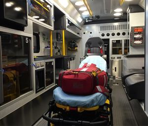The proper cleaning and disinfection of an ambulance and the equipment used to provide patient care is a critical task. (Photo/Greg Friese)