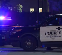 Calif. officer ambushed in patrol car, suspect killed