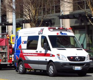 Days before theyplan to strike demanding better pay, some Seattle emergency medical technicians (EMTs) are arriving at work to find out-of-state replacement workers conducting ride-alongs. (Photo/YouTube)