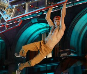 "Firefighter Thomas Kafron will compete in tonight's episode of ""American Ninja Warrior."" (Photo/ANW)"