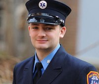Son of firefighter killed on Sept. 11 joins FDNY