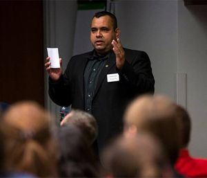 Armando Silva, a paramedic with the Chicago Fire Department, was one of the authors of the study. (Photo/Graham School at the University of Chicago)