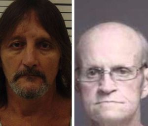 """Lester Parker, 67, and his nephew, William """"Billy"""" Tucker, 46, are both charged with arson and murder. (Photo/Butler County Sheriff's Dept.)"""