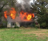 Va. firefighters: City knowingly burned house with asbestos in training