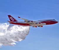 Jumbo air tanker wins protest, may fight more U.S. wildfires