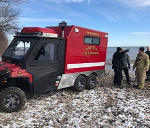 The smaller build of the ambulance will also allow responders to cut through crowded areas more easily. (Photo/West Allis Fire Department)