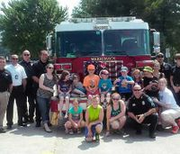 NH fire, police show up for autistic boy's playdate