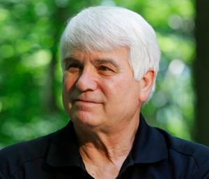 Former Army medic James McCloughan is interviewed in South Haven, Mich. (AP Photo/Carlos Osorio)