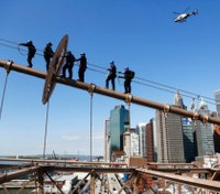 Don't look down: NYPD unit does its work at dizzying heights