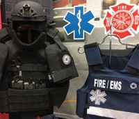 Ohio fire dept. equipped with ballistic vests