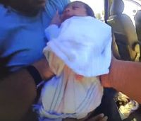 Video: Texas police chief saves unresponsive baby