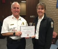 Female battalion chief in charge of gender issues resigns in protest