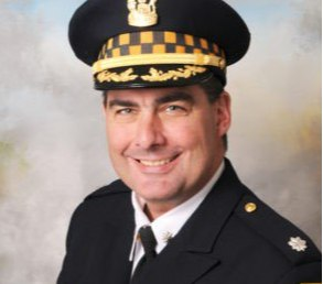 Cmdr. Paul Bauer was killed in February by a felon using an illegally-sold gun. (Photo/CPD)