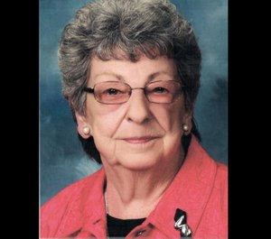 Audrey Beaverson's philanthropy greatly assisted the Wayne County fire and EMS community. (Photo/