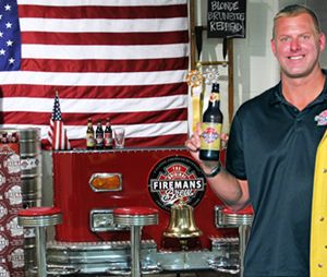 L.A. firefighter develops craft brew line
