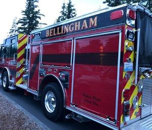 Bellingham Fire Department personnel made 15 training attempts to intubate a dead man as he lay in a body bag on the floor of the apparatus bay at Station 1, according to an investigation. (Photo/BFD)