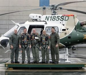 The Orange County Sheriff's Department has taken over the county's helicopter rescue operations after talks disintegrated with the county fire authority. (Photo/OCSD)
