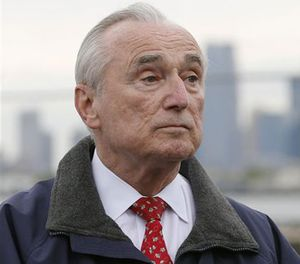 A photo of New York City Police Commissioner William Bratton. (AP Image)