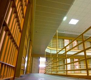 This April 23, 2003 file photo shows the interior of the Arkansas Department of Correction prison in Malvern, Ark. (AP Photo/Danny Johnston, File)