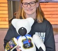 Bears in blue: How a teen girl keeps the memory of fallen officers alive
