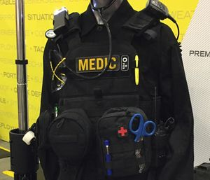 Following attacks on first responders, EMS leaders said ballistic vests are the next step to protecting personnel.(Photo/Greg Friese)