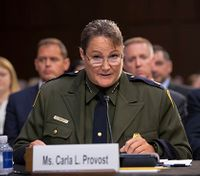Carla Provost is named Border Patrol's first female chief