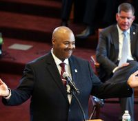 Boston's 1st black police commissioner sworn in