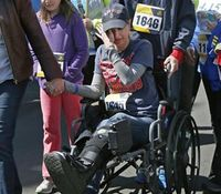Boston bombing victim going home after amputation