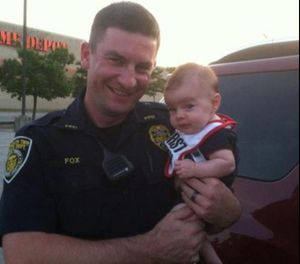 Pictured is Officer Bradley Fox. (Photo/ODMP)